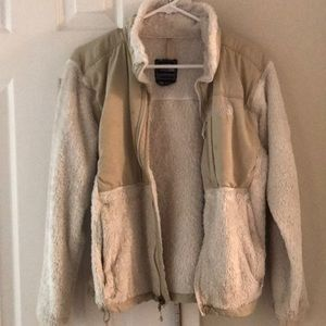 North face beige jacket